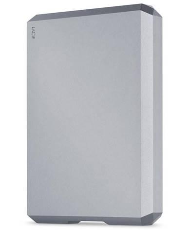 Externý pevný disk Lacie Mobile Drive 5TB, USB-C sivý