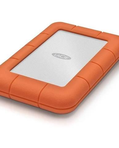 Externý pevný disk Lacie Rugged Mini 1TB, USB 3.0 oranžový