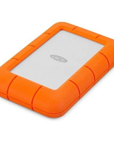 Externý pevný disk Lacie Rugged Mini 4TB, USB 3.0 oranžový