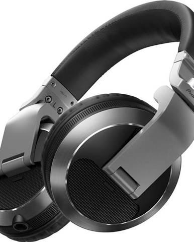 Slúchadlá Pioneer DJ HDJ-X7-S strieborná