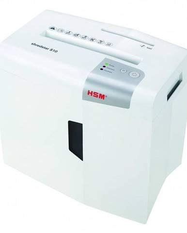 Skartovač HSM ShredStar S10, 10 listů, 18 l, P2