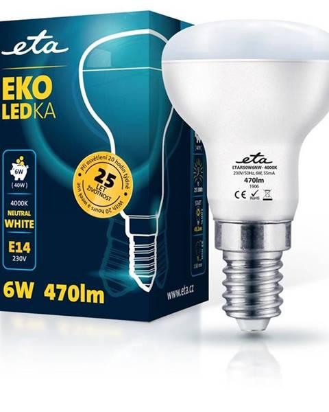 Eta LED žiarovka ETA EKO LEDka reflektor 6W, E14, neutrálna biela