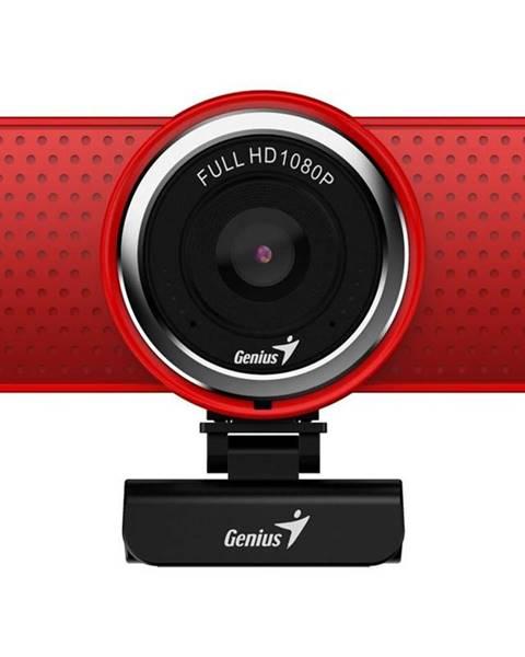 Genius Webkamera Genius ECam 8000, Full HD červená