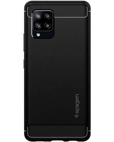 Kryt na mobil Spigen Rugged Armor na Samsung Galaxy A42 5G čierny