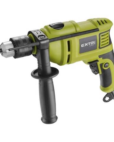 Príklepová vŕtačka Extol Craft 401163 zelen