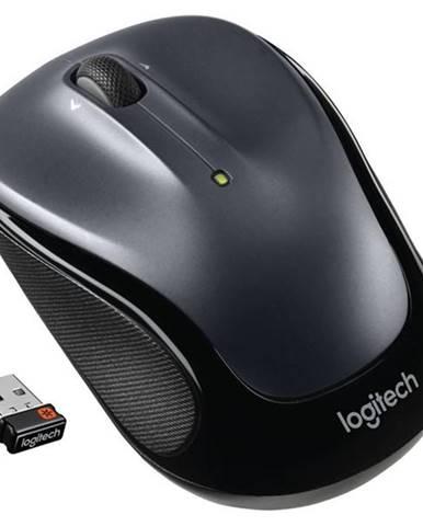 Myš  Logitech Wireless MoM325 sivá / optická / 3 tlačítka /