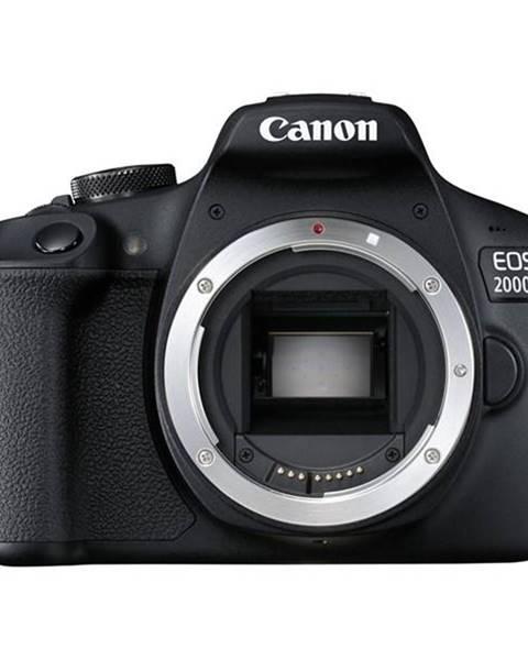 Canon Digitálny fotoaparát Canon EOS 2000D telo čierny