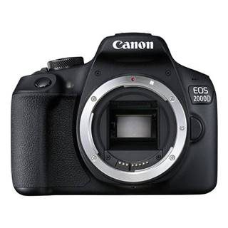 Digitálny fotoaparát Canon EOS 2000D telo čierny