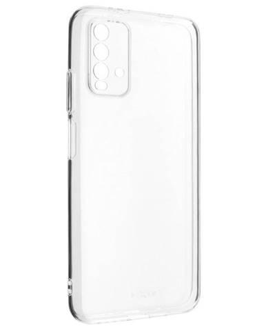 Kryt na mobil Fixed na Xiaomi Redmi Note 9 4G priehľadný
