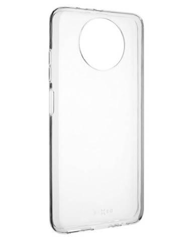 Kryt na mobil Fixed na Xiaomi Redmi Note 9 5G/Note 9T priehľadný
