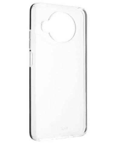 Kryt na mobil Fixed na Xiaomi Redmi Note 9 Pro 5G priehľadný