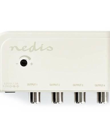 Zosilňovač Nedis Catv, Max. zesílení 10 dB, 50-694 MHz, 4 výstupy,