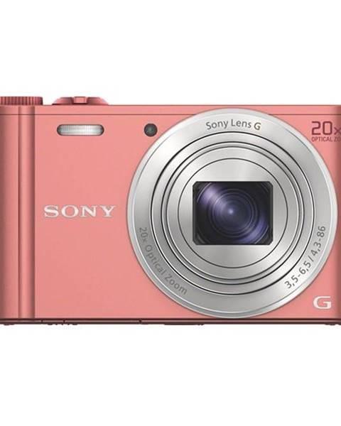 Sony Digitálny fotoaparát Sony Cyber-shot DSC-WX350 ružov