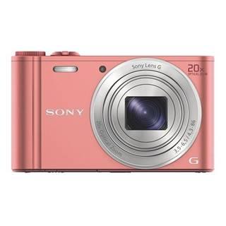 Digitálny fotoaparát Sony Cyber-shot DSC-WX350 ružov