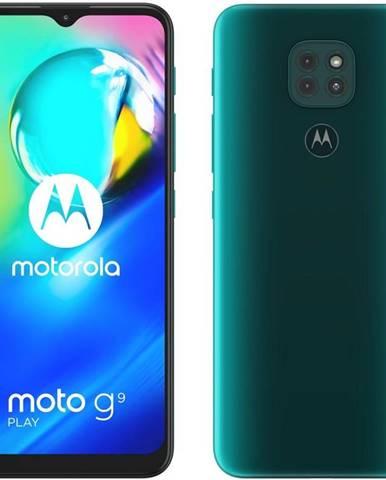 Mobilný telefón Motorola Moto G9 Play - Forest green