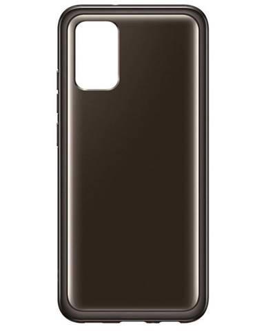Kryt na mobil Samsung Galaxy A02s čierny/priehľadný