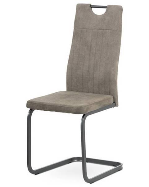Sconto Jedálenská stolička EVELYN hľuzovková/sivá