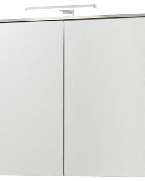 Sconto Zrkadlová skrinka GAVERA biela