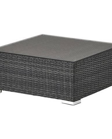 Stolík/taburet VARIO sivá