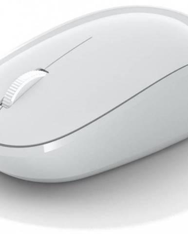 Bezdrôtová myš Microsoft Bluetooth Mouse, biela RJN-00066 + Zdarma podložka Olpran