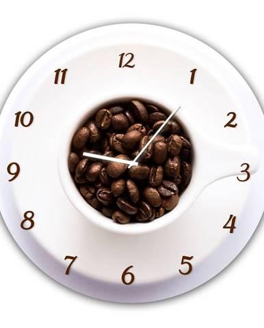 Nástenné hodiny Styler Glassclock Cup, ⌀ 30 cm