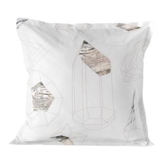 Bavlnená obliečka na vankúš Blanc Terrene, 60 x 60 cm