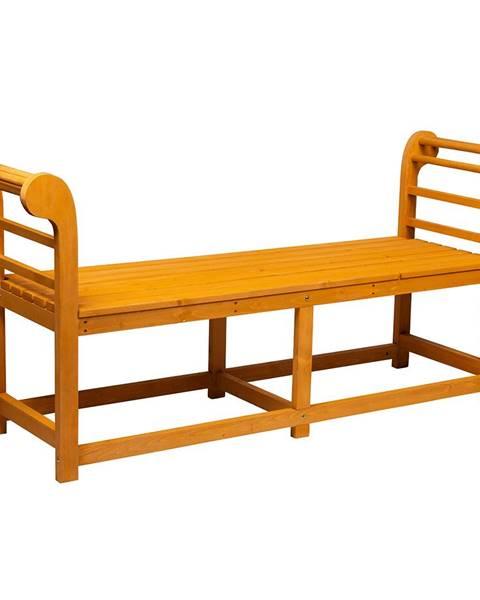 Kondela Záhradná lavička masívne drevo URITA