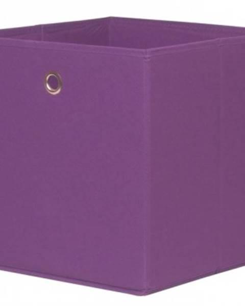 ASKO - NÁBYTOK Úložný box Alfa, fialová%