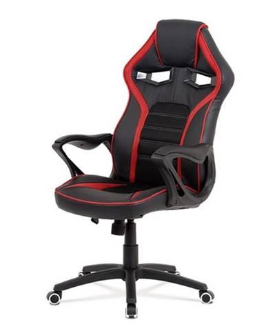 Kancelárska stolička ALIEN čierna/červená