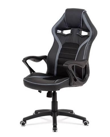 Kancelárska stolička ALIEN čierna/sivá