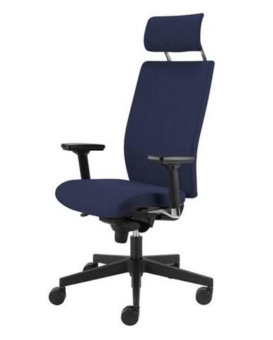 Kancelárska stolička CONNOR modrá