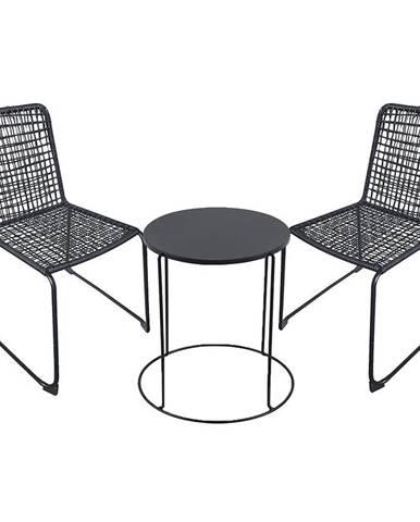 Sada stôl modern + 2 stoličky Kanada