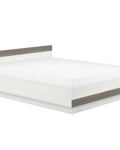 Posteľ Blanco 35 170 borovica snežná/new grey