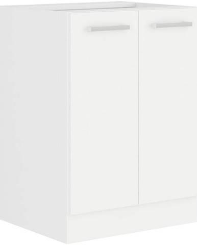 Kuchynská skrinka Eko White 60D 2F BB