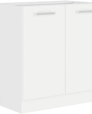 Kuchynská skrinka Eko White 80D 2F BB