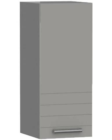 Kuchynská skrinka PAULA šedá W40/L/72