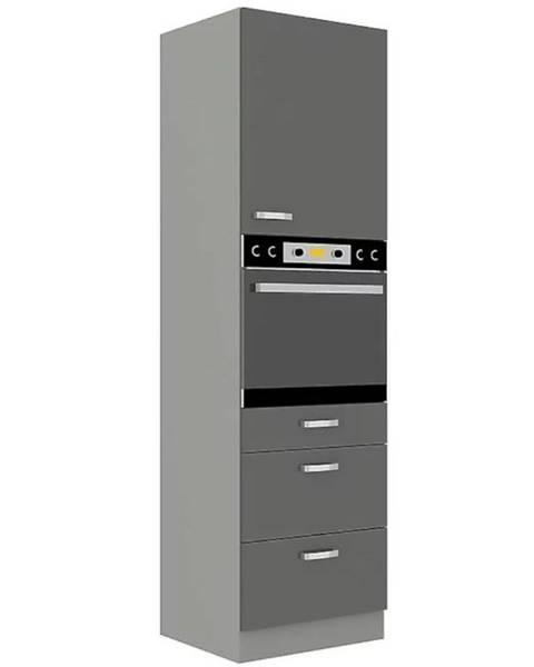 MERKURY MARKET Skrinka do kuchyne Grey 60 DPS/210 2F