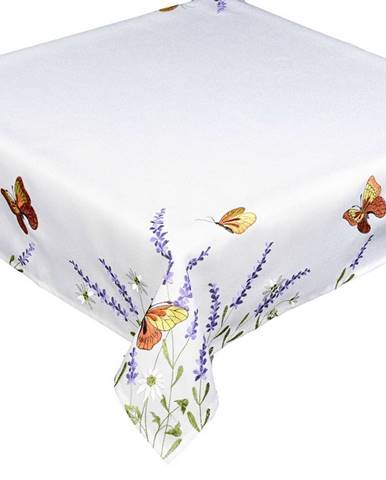 Forbyt Obrus Motýle a levanduľa, 40 x 90 cm