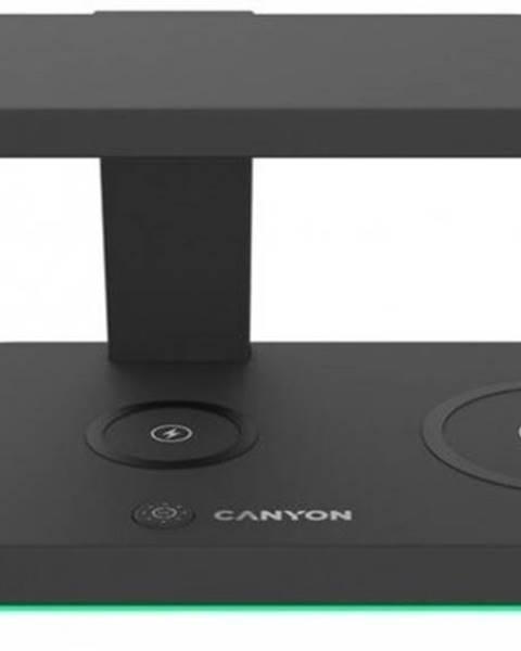 Canyon Bezdrôtová nabíjačka CANYON 5v1, čierna