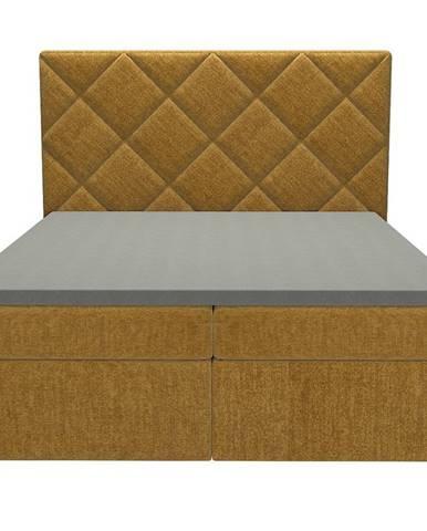 Posteľ Reja 160x200 Monolith 48 s vrchným matracom