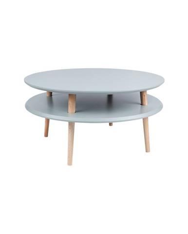 Tmavosivý konferenčný stolík Ragaba UFO, Ø 70 cm