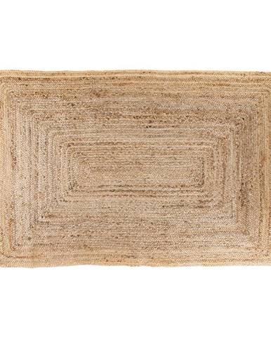 Svetlohnedý koberec HoNordic Bombay, 180 × 120 cm