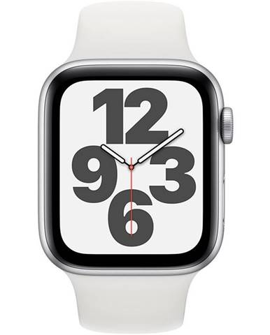 Inteligentné hodinky Apple Watch SE GPS 40mm púzdro zo strieborného