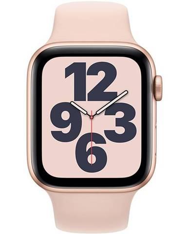 Inteligentné hodinky Apple Watch SE GPS 40mm púzdro zo zlatého