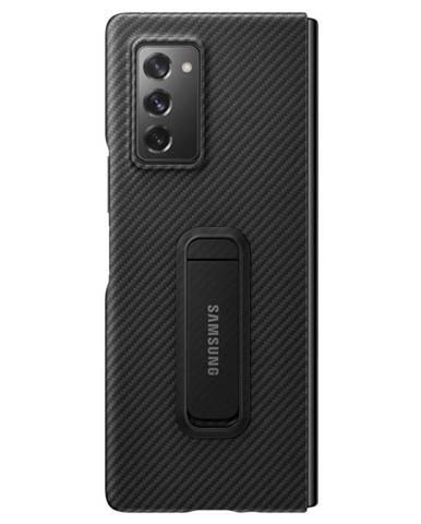 Kryt na mobil Samsung Z Fold2 Aramid Standing čierny