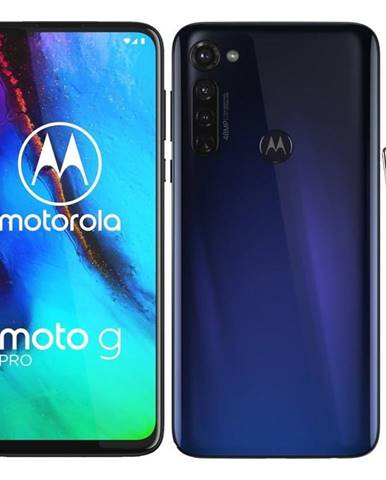 Mobilný telefón Motorola Moto G Pro se stylusem - Graphene Blue