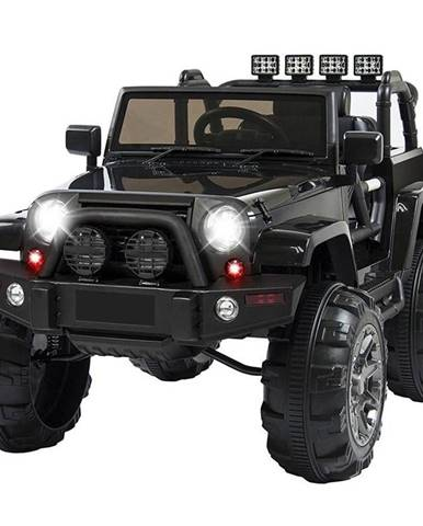 Elektrické autíčko MaDe Jeep čierne