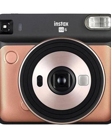 Digitálny fotoaparát Fujifilm Instax Square SQ 6 čierny/zlat