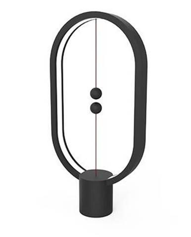 Stolná lampa Powercube Heng Balance Plastic Ellipse USB čierna