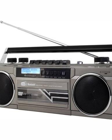 Rádiomagnetofón Soundmaster Srr70ti strieborn